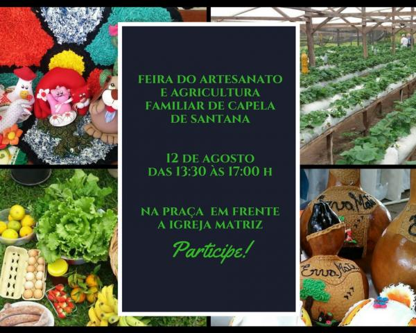 FEIRA DO ARTESANATO E AGRICULTURA FAMILIAR