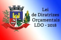 Lei de Diretrizes Orçamentais - 2018