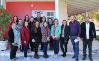 Reunião com diretores das escolas municipais